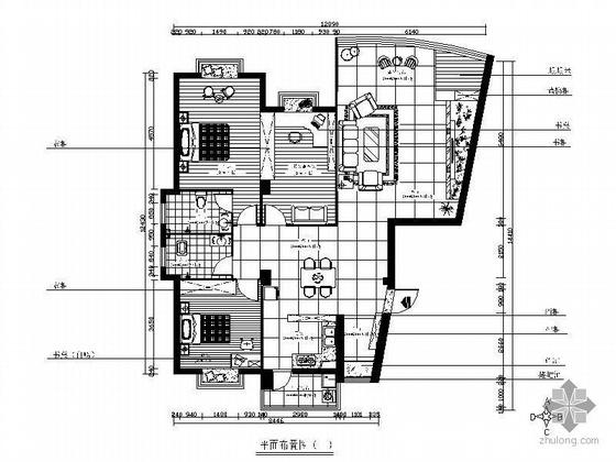 [湖南]小区三室两厅设计方案