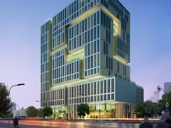 现代风格办公建筑psd分层素材下载