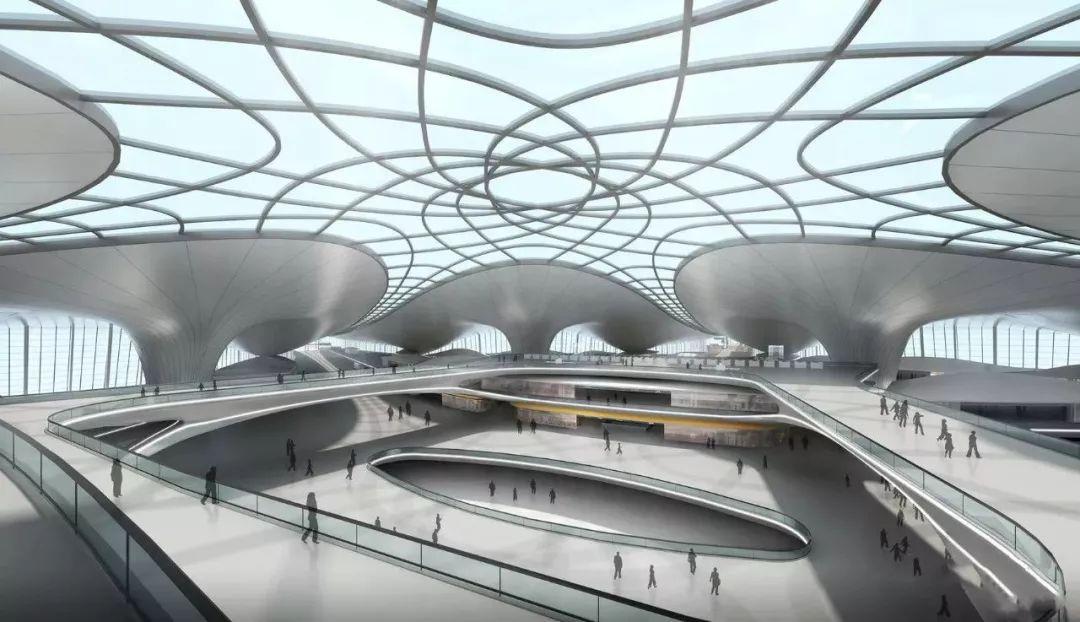 """中国最""""魔幻""""的北京大兴国际机场试飞了!黑科技满满…_34"""
