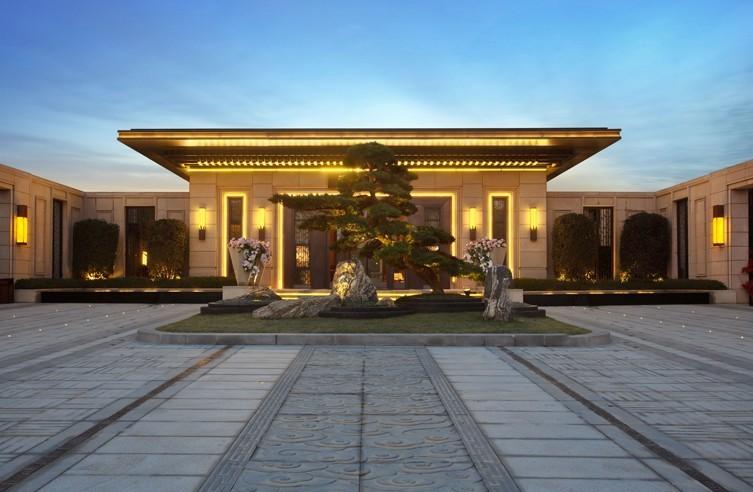 南京新城璞樾钟山新中式景观