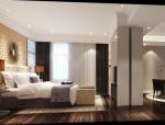 欧式-古臣四层高档别墅室内设计施工图(含效果图)
