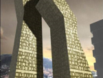 多塔与连体高层结构的动力特性及地震响应分析