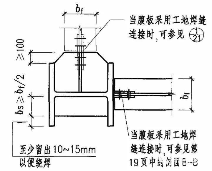 钢结构梁柱连接节点构造详解_9