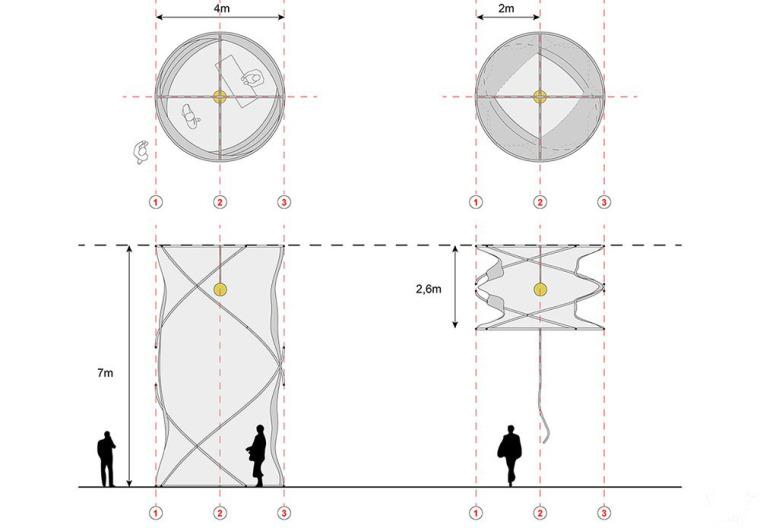 激活桥下的模块化空间装置-7