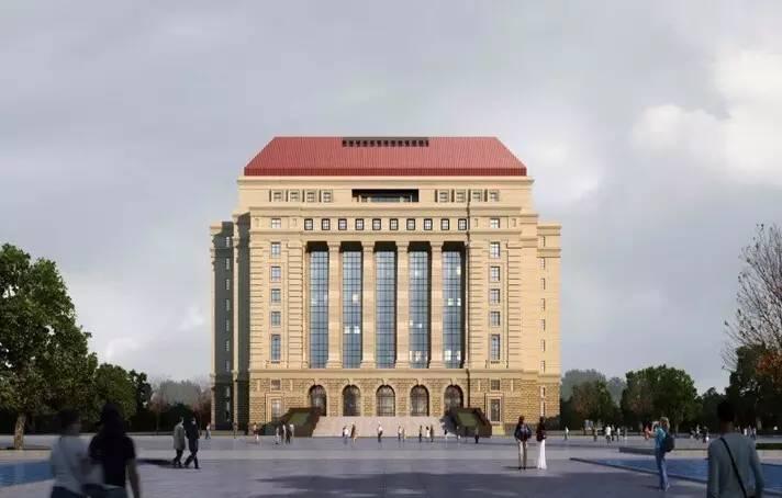 BIM技術在山東大學圖書館的應用