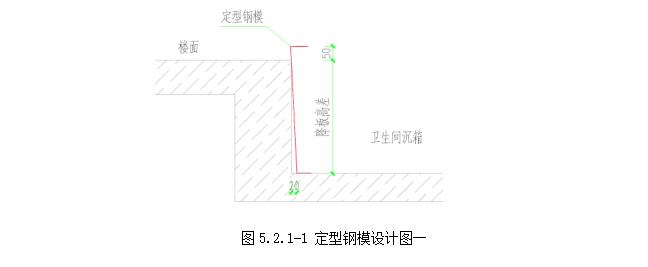 卫生间沉箱整体定型钢模板施工工法