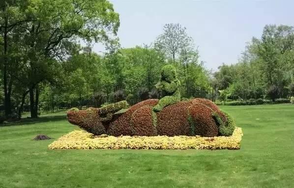 80个极美植物雕塑_30