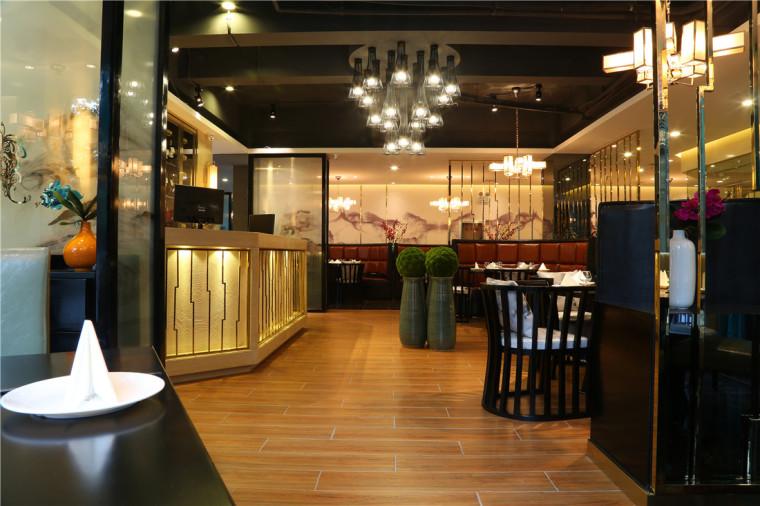 [大连餐厅设计]大连粤食粤点餐厅项目设计实景照片震撼来袭-3.JPG