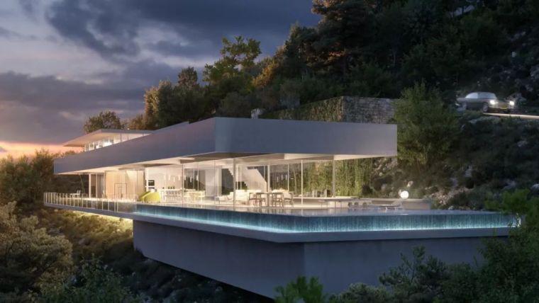 1500m²大别墅,极简大师这样打造,美竟如此纯粹!_65