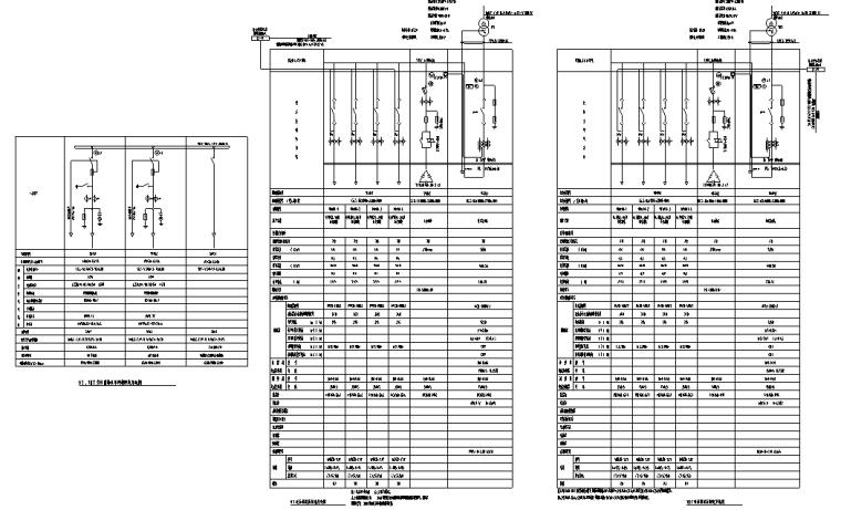 四川省居住小区地下室电气施工图纸