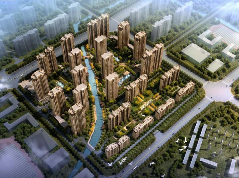 [江苏]无锡欧陆风格居住区规划建筑设计方案文本(PDF+110页)