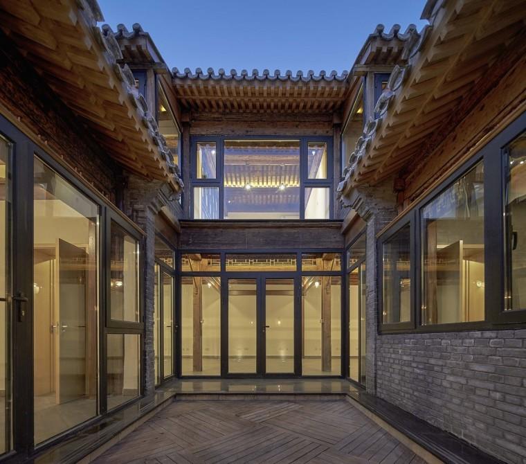北京前门长巷三条合院改造-14