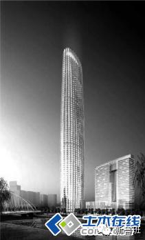 [高楼赏析]天津津塔--钢板剪力墙结构简介