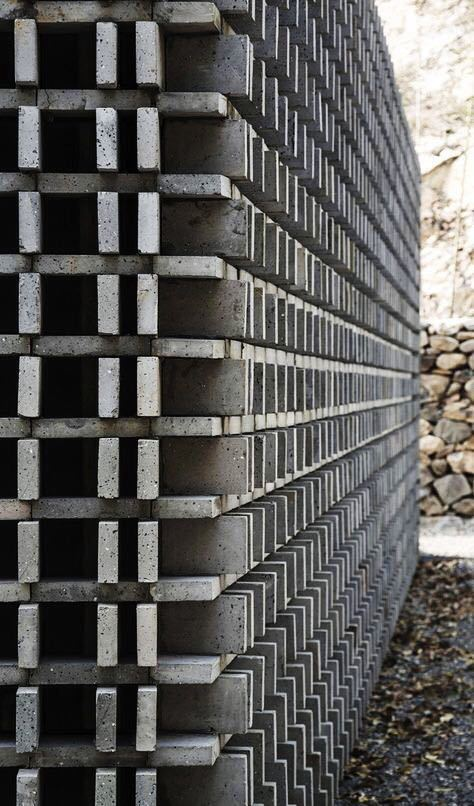 砖的艺术,看看如何把砖赋予艺术性的用在建筑上?_1