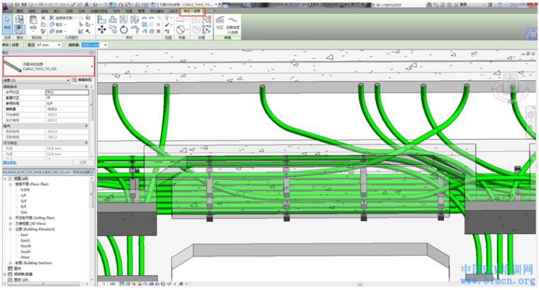 BIM软件小技巧:REVIT线管拐弯处弯头设置