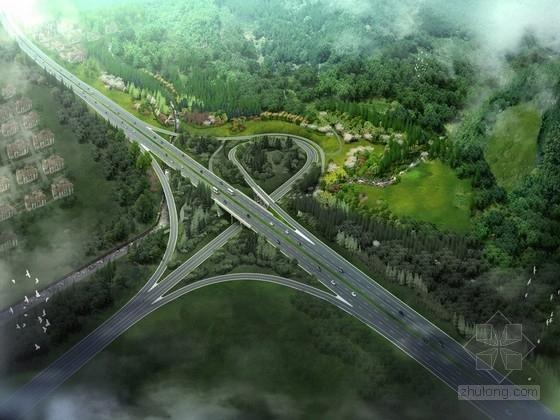 [杭州]高速公路与山体间特色生态景观带景观规划设计方案