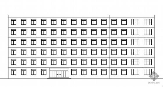 [毕业设计]某六层框架结构办公楼建筑结构施工图