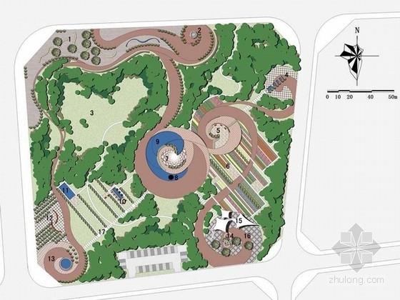 [内蒙古]现代创意公园景观设计方案