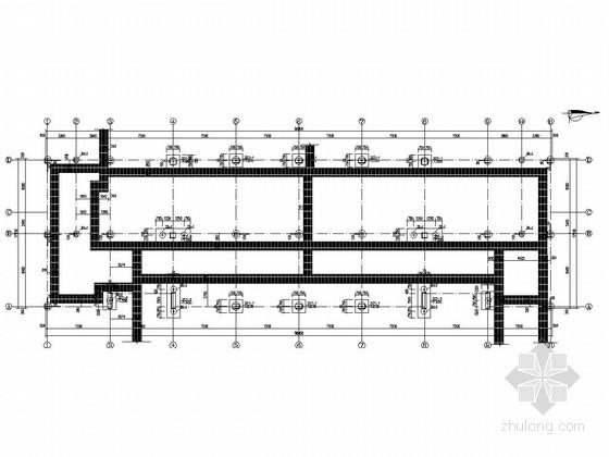 两层框架结构交警大队业务技术用房结构施工图