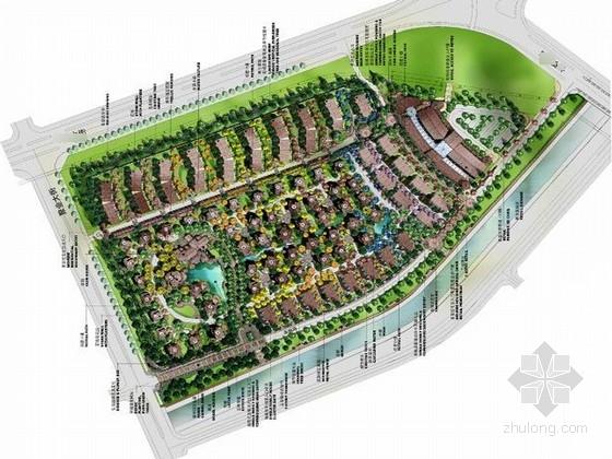 [长春]水彩画风宁静自然私家庭院设计方案