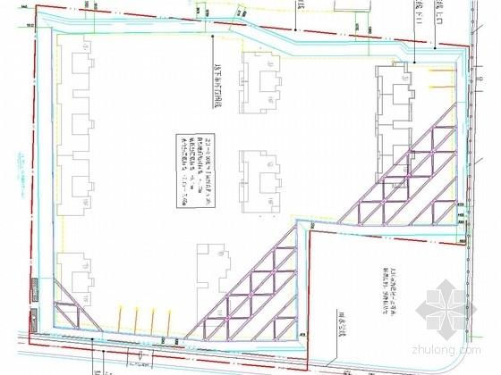 [浙江]排桩内支撑深基坑支护施工图(附设计方案 计算书)