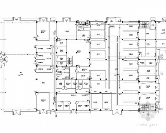 [黑龙江]四层汽车4S店消防水暖施工图
