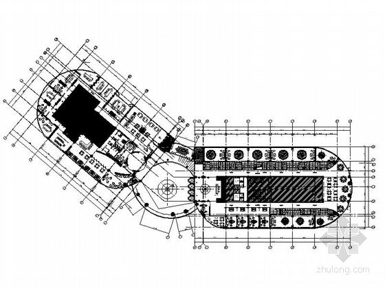[福建]海滨地带游艇俱乐部会所日式餐厅装修施工图