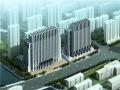 [山东]现代风格高层政府办公楼建筑设计方案文本(含2个方案)