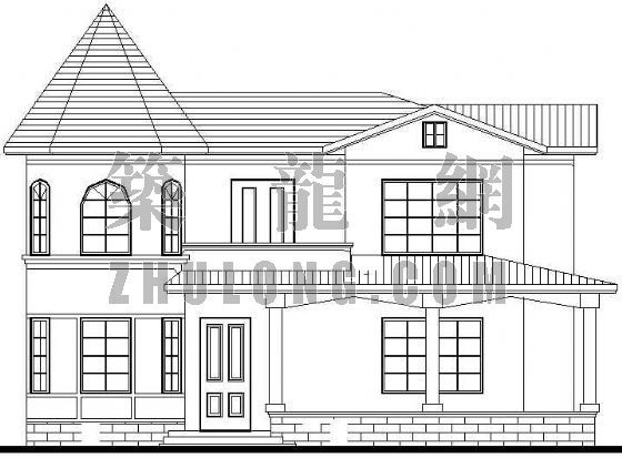 一个欧式别墅方案