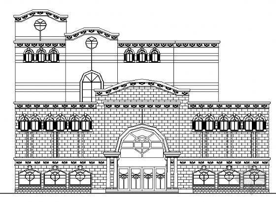 某证券交易所建筑设计方案