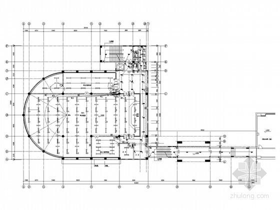 大学多层图书馆建筑全套电气施工图(含室外电缆敷设大样)