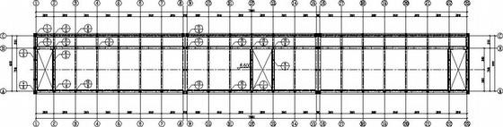 三层砖混宿舍楼结构加固施工图
