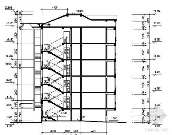 某住宅小区五层住宅单体设计方案-2