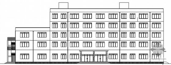 [毕业设计]延安某厂框架综合办公楼建筑施工图