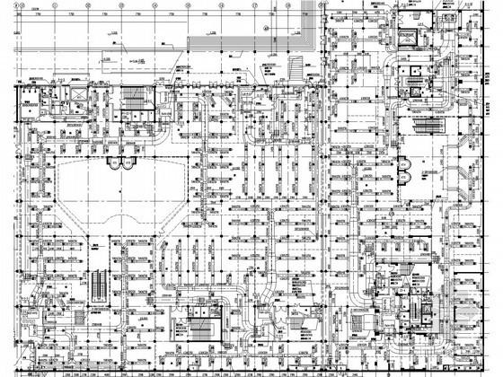 综合性商场及住宅楼空调及通风排烟系统设计施工图