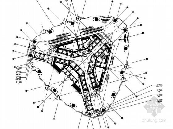 [广州]核心商务区顶级豪华五星级酒店装修施工图