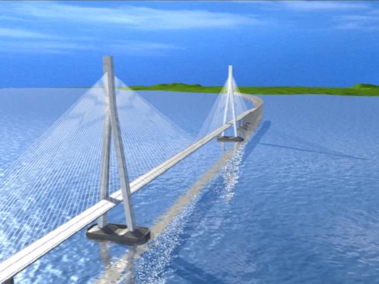 双塔斜拉桥钢箱梁制造施工工艺动画演示13分钟(细节丰富)