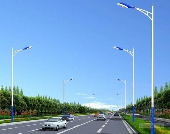 城市支路路灯工程量清单计价实例