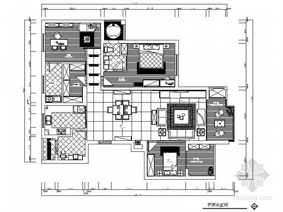 [原创]简洁典雅的三居室温馨装修施工图(含实景图)