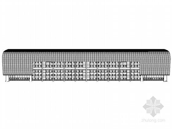 [河南]现代风格多层全民健身中心设计方案施工图