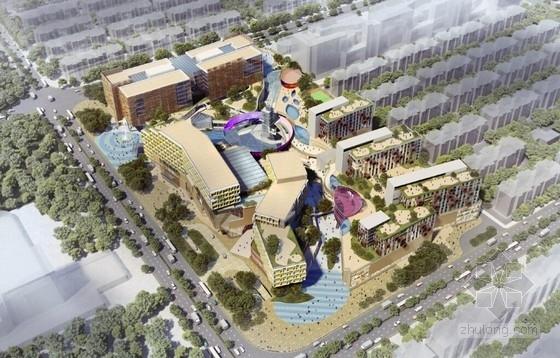 [山东]沿海城市知名体验式金融中心建筑设计方案文本(总投资9亿元)