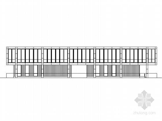 [上海]现代简洁多层工业园区建筑方案图(知名设计院 附景观设计)