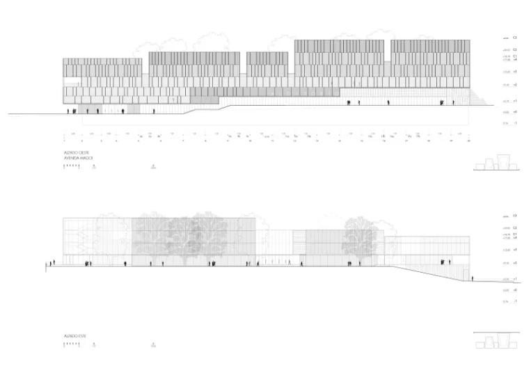多面综合型礼堂建筑,简单外表下的复杂功能_7