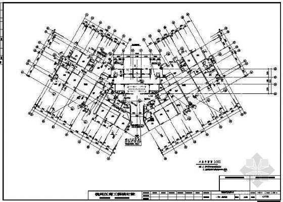 高层户式中央空调设计图