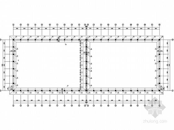单层砌体结构平房仓结构施工图