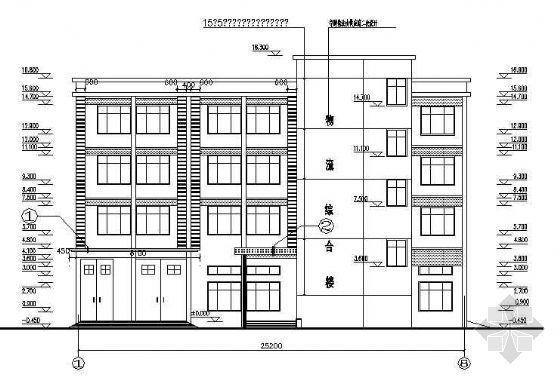 某办公楼建筑结构成套图纸