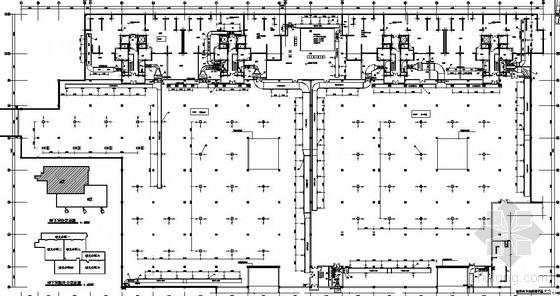 武汉某工厂地下室通风图