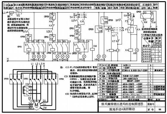 建筑设备二次控制原理图66张完整版