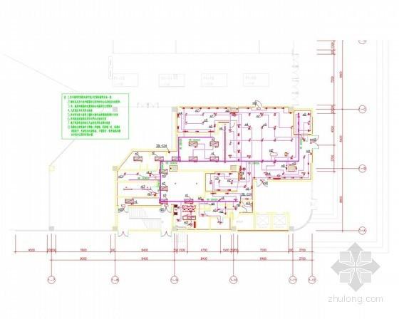 餐厅电气消防资料下载-[北京]连锁餐厅装修电气施工图纸