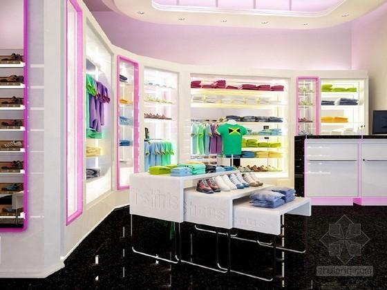 儿童服饰专卖店3d模型下载